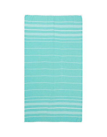 Miz Casa & Co French Riviera Turkish Towel Mint Green