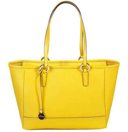 ALLORA Georgia Shopper Tote Yellow