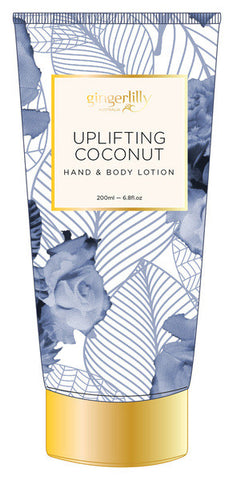 GINGERLILLY Uplifting Coconut Hand & Body Lotion 200ml