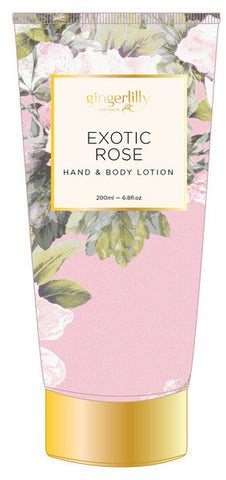 GINGERLILLY Exotic Rose Body Lotion