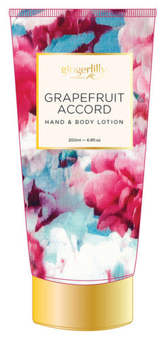 GINGERLILLY Grapefruit Accord Hand & Body Lotion 200ml