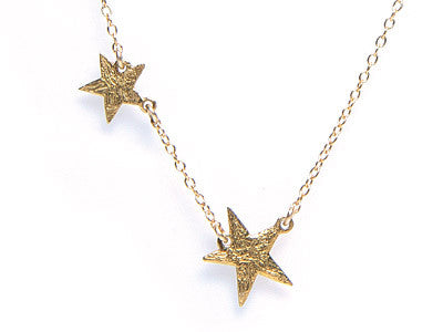 GORJANA Gold Plated Super Star Necklace