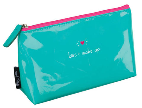 "HAPPY JACKSON ""Kiss and Makeup"" Cosmetics Bag"