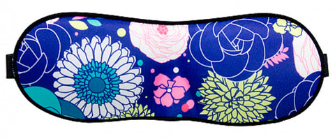 Botanical Print Contoured Eye Mask