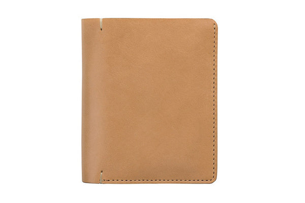 STATUS ANXIETY Jessie Leather Wallet Tan