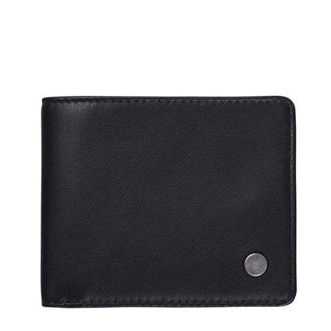 STATUS ANXIETY Leonard Leather Wallet Black