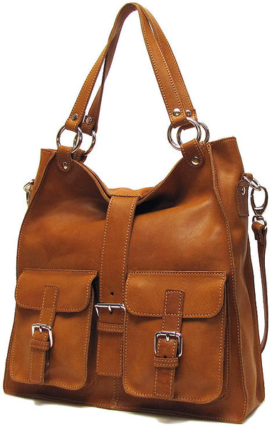 FLOTO Livorno Bag Tan Brown