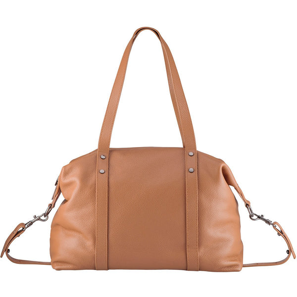 STATUS ANXIETY Love and Lies Leather Bag Tan FREE WALLET