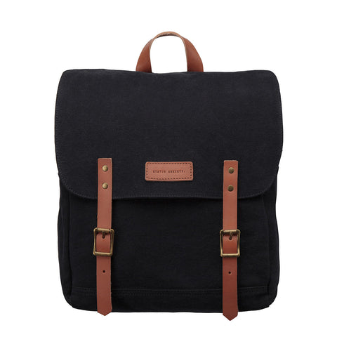 STATUS ANXIETY Matter Of Leather Backpack Black
