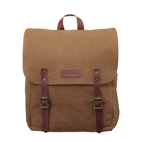 STATUS ANXIETY Matter Of Leather Backpack Camel