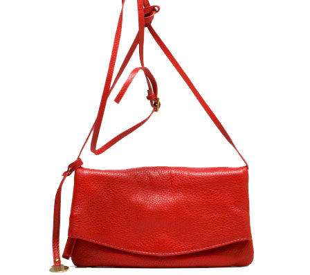 ALLORA Mollie Mini Sling Bag / Clutch Red