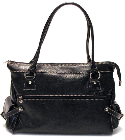 FLOTO Monticello Handbag Black