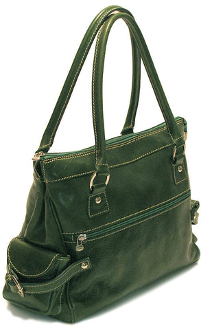 FLOTO Monticello Handbag Apple Green