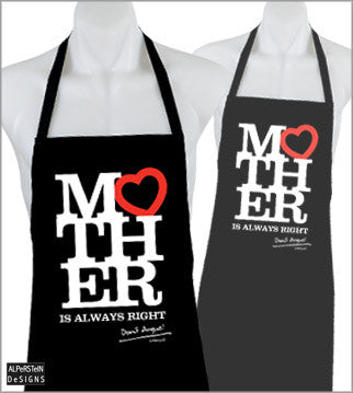 """Mother Is Always Right Don't Argue!"" Apron"