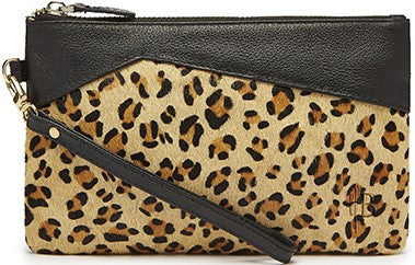 MIGHTY PURSE Premium - Smartphone Battery Charger Clutch Leopard