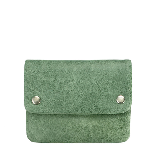STATUS ANXIETY Norma Leather Wallet Emerald Green