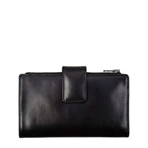 STATUS ANXIETY Outsider Leather Wallet Black