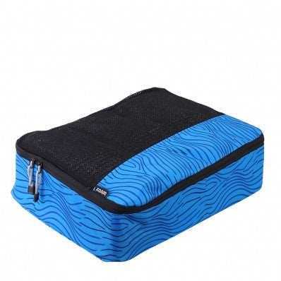 ZOOMLITE Smart Packing Cube L Bluestripe