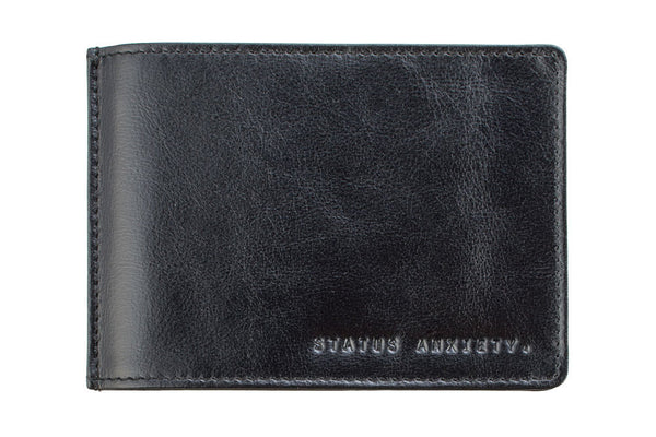STATUS ANXIETY Perez Leather Wallet Black