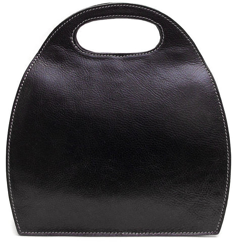 FLOTO Pietrini Leather Bag Black