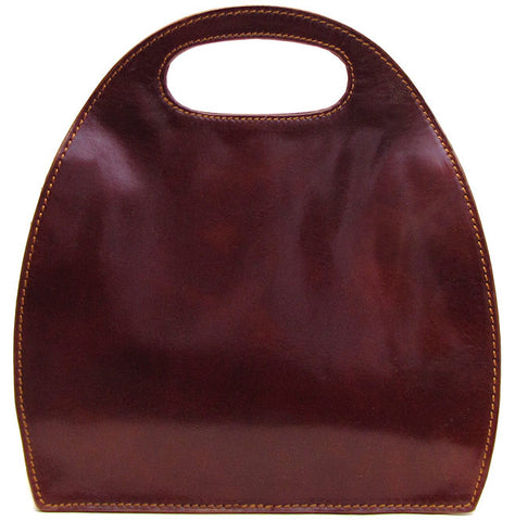 FLOTO Pietrini Leather Bag Vecchio Brown
