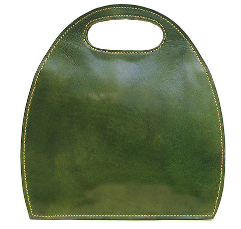 FLOTO Pietrini Leather Bag Green