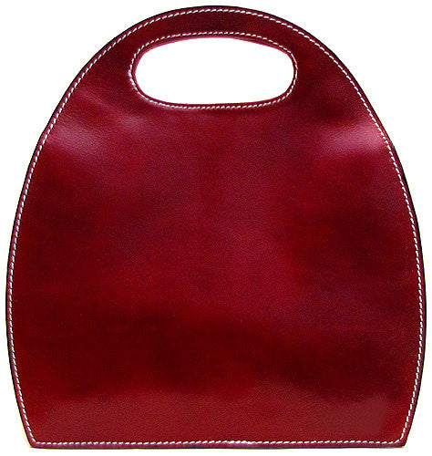 FLOTO Pietrini Leather Bag Tuscan Red