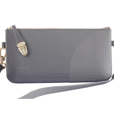 PISIDIA Silicone Clutch Ash Grey SALE
