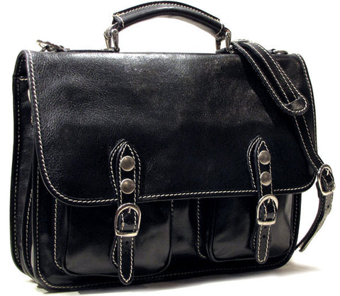 FLOTO Poste Messenger Bag Black