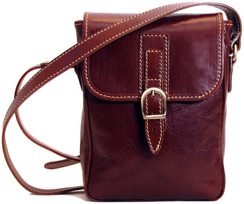FLOTO Poste Crossbody Bag Vecchio Brown