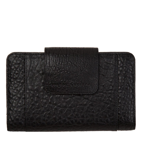 STATUS ANXIETY Precipice Leather Wallet Black