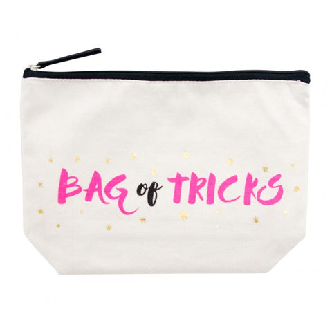 Bag of Tricks Canvas Cosmetic Bag