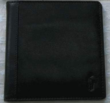 Polo by Ralph Lauren Mens Leather Bifold Credit Card Wallet