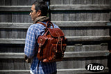 FLOTO Roma Backpack Vecchio Brown