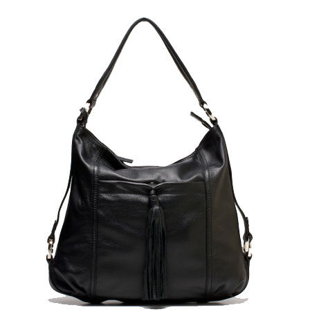 ALLORA Rosie Medium Hobo Bag Black