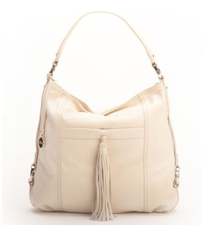 ALLORA Rosie Medium Hobo Bag Ecru Beige