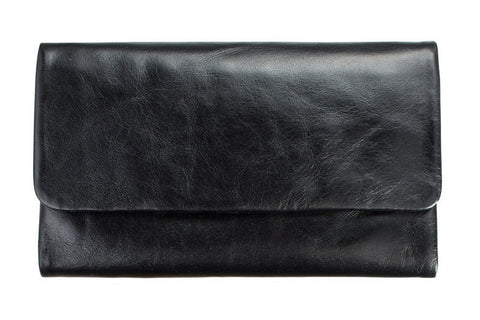 STATUS ANXIETY Audrey Leather Wallet Black