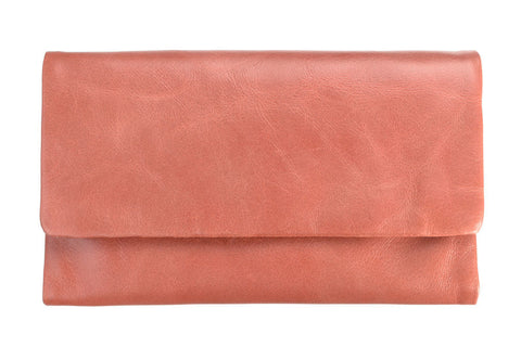 STATUS ANXIETY Audrey Leather Wallet Pink