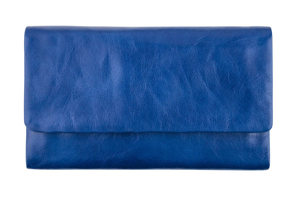 STATUS ANXIETY Audrey Leather Wallet Royal Blue