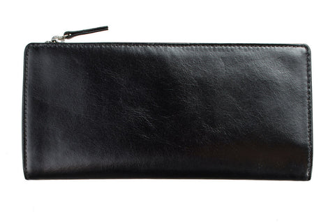 STATUS ANXIETY Dakota Leather Wallet Black