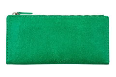 STATUS ANXIETY Dakota Leather Wallet Emerald