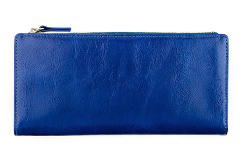 STATUS ANXIETY Dakota Leather Wallet Royal Blue