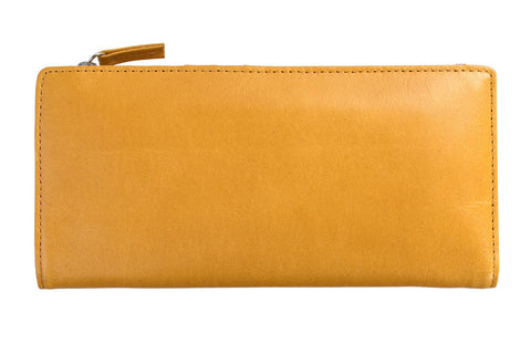 STATUS ANXIETY Dakota Leather Wallet Tan