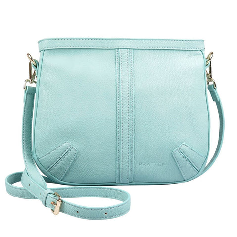 PRATTEN Saddle Shoulder Bag Sky Blue