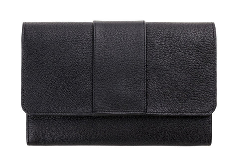 STATUS ANXIETY Ida Leather Wallet Black