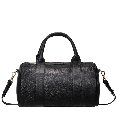 STATUS ANXIETY Kingdoms and Oaths Leather Bowler Bag Black FREE WALLET