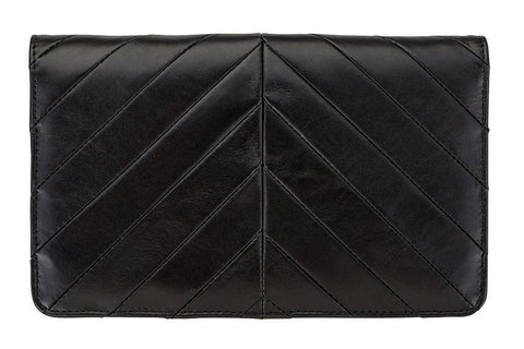 STATUS ANXIETY Mildred Leather Wallet Black