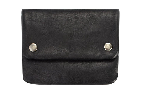 STATUS ANXIETY Norma Leather Wallet Black
