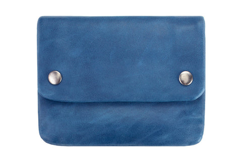 STATUS ANXIETY Norma Leather Wallet Blue