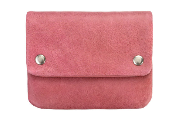STATUS ANXIETY Norma Leather Wallet Pink